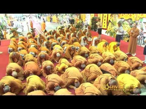 SEN VIỆT Video 6: Lễ viếng Giác Linh Trưởng Lão Hòa Thượng Thích Minh Châu