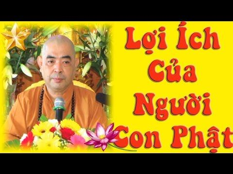 Lợi Ích Của Người Con Phật
