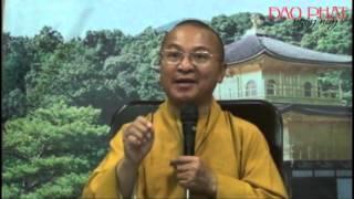 Kinh quán vô lượng thọ 04: Điều kiện và chín phẩm vãng sinh (21/10/2012) video do Thích Nhật Từ giản