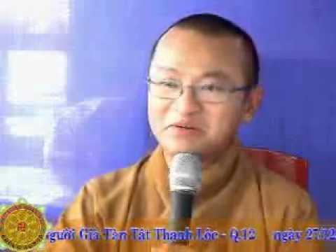 Chuyển hoá thói quen (27/12/2007) video do Thích Nhật Từ giảng