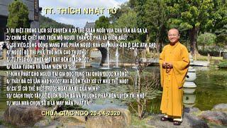 Vấn đáp Phật pháp ngày 20-04-2020 (HD) | TT. THÍCH NHẬT TỪ