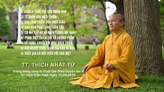 Vấn đáp Phật pháp ngày 12-08-2018 (HD) | Thích Nhật Từ