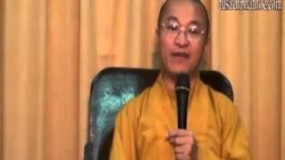 Kinh Di Giáo 09: Cẩm nang vượt qua khổ đau (27/05/2012) video do Thích Nhật Từ giảng