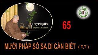 Từng Giọt Sữa Thơm 65 - Thầy Thích Pháp Hòa (Tv Trúc Lâm, Ngày 18.9.2020)