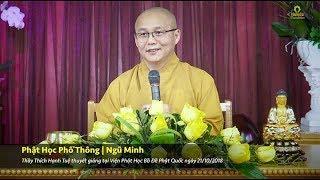 Phật Học Phổ Thông - Ngũ Minh