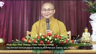 Phật Học Phổ Thông - Tinh Tấn Ba La Mật