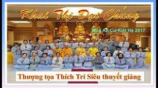 Khai Thị Đại Chúng - Viện Phật Học Linh Sơn, Pháp Quốc