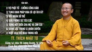 Vấn đáp: Vợ Phật tử, chồng công giáo- Tụng kinh Pháp Hoa có lợi ích gì?