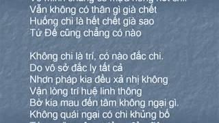 Tụng Bát Nhã Tâm Kinh (Có Chữ, Nghĩa Việt)