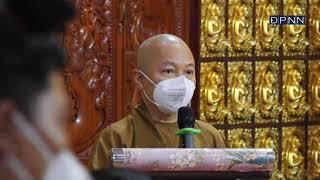 Lễ xuất hành đợt 3 nhóm tình nguyện viên Phật giáo tham gia tuyến đầu chống dịch Covid-19,18-09-2021
