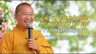 Các tu tập căn bản của Phật tử tại gia