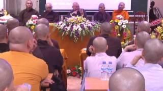 Lễ Khánh Tuế HT Hiệu Trưởng trường Phật học Tp.HCM lần 86