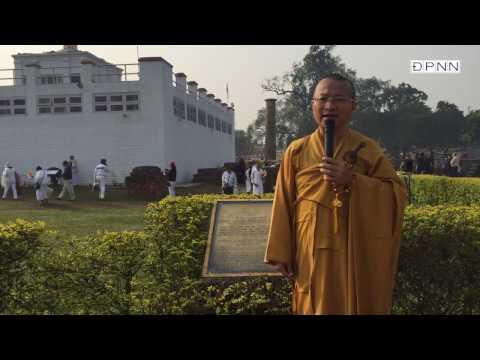 Hành hương Phật tích - Vườn Lâm Tỳ Ni - TT. Thích Nhật Từ