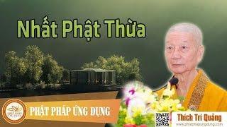 Nhất Phật Thừa
