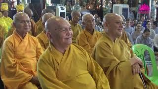 Trả lời câu hỏi Khóa Thiền Chùa Phật Ngọc Xá Lợi ngày 04/8/2018
