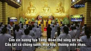 """Tụng """"Kinh Tham ÁI Là Gốc Khổ Đau"""" trích trong """"Kinh Phật Cho Người Tại Gia""""."""