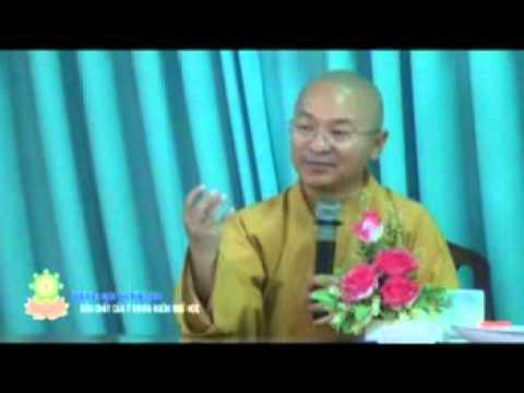 Triết học ngôn ngữ Phật giáo 02: Bản chất của ý nghĩa (20/04/2012) video do Thích Nhật Từ giảng