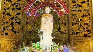 """Tụng Kinh """"Kinh Phân Biệt Nghiệp Báo"""" tại Chùa Giác Ngộ, ngày 03-06-2021."""
