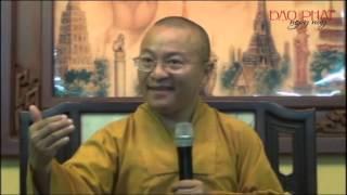 Lợi Ích Của Việc Nghe Phật Pháp (18/11/2012) video do Thích Nhật Từ giảng