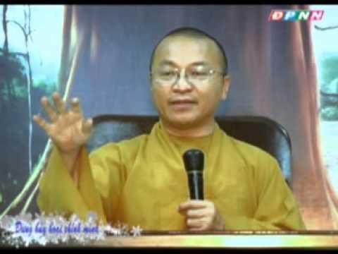 Cánh cửa bại vong 02: Đừng hủy hoại chính mình (04/09/2011) video do Thích Nhật Từ giảng
