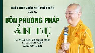 BỐN PHƯƠNG PHÁP ẨN DỤ | Triết học ngôn ngữ Phật giáo | Bài 16