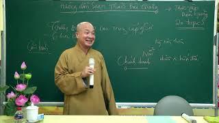 Hướng dẫn soạn thảo bài giảng    Đại đức Thích Trí Huệ
