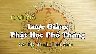 Lược Giảng Phật Học Phổ Thông Tại Tu Viện - ĐĐ. Thích Thiện Xuân