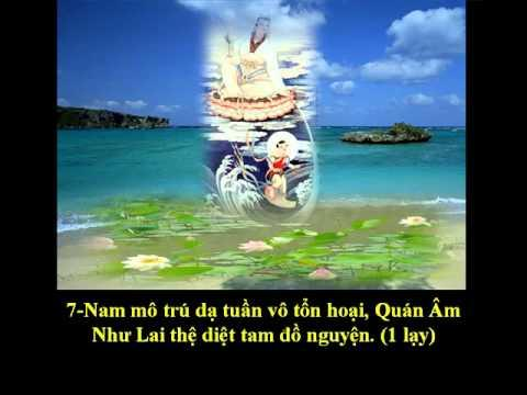 """Tụng """"Kinh Phổ Môn"""" (Bản Việt Văn) (Có Chữ)"""