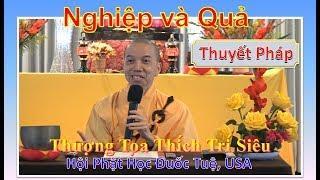 Nghiệp và Quả - Hội Phật Học Đuốc Tuệ, USA