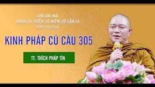 Kinh Pháp Cú 305 - TT. Thích Pháp Tín | Pháp Thoại Mới Nhât 2018