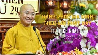 Hạnh phúc gia đình theo lời Phật dạy