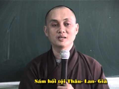 Sám Hối Tội Thâu Lan Giá Của Tỳ Kheo (phần 2)