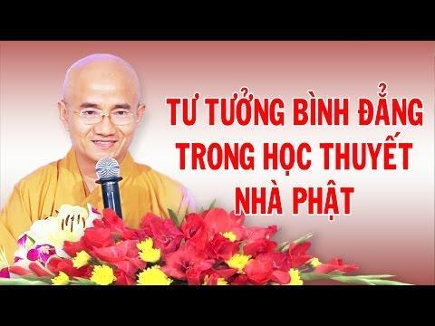 Tư tưởng bình đẳng trong học thuyết nhà Phật