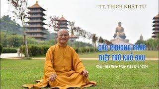 Các phương pháp diệt trừ khổ đau 13-07-2014 - TT. Thích Nhật Từ