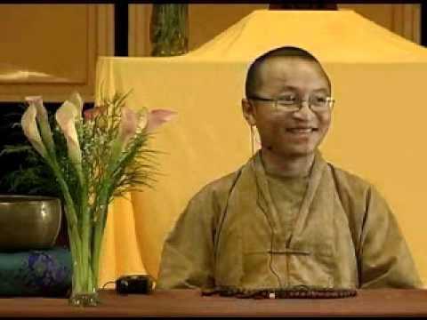 Tứ vô lượng tâm 1B: Từ bi (24/06/2007) video do Thích Nhật Từ giảng