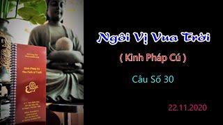 Ngôi Vị Vua Trời - Thầy Thích Pháp Hòa (Tv.Trúc Lâm.Ngày 22.11.2020)