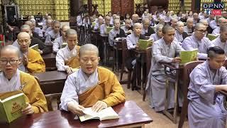 Tụng Kinh Phật Về Thiền Và Chuyển Hóa trong khóa tu Xuất Gia Gieo Duyên