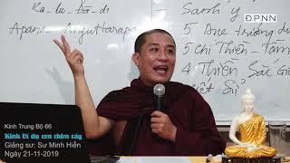 KINH TRUNG BỘ 66 -  Kinh Ví dụ con chim cáy - SƯ MINH HIỂN