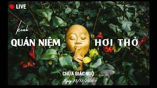 TỤNG KINH QUÁN NIỆM HƠI THỞ - Chùa Giác Ngộ ngày 23/12/2020