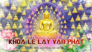Tăng đoàn Chùa Giác Ngộ lạy vạn Phật mùa An Cư Kiết Hạ tại Chùa Giác Ngộ, ngày 04-06-20
