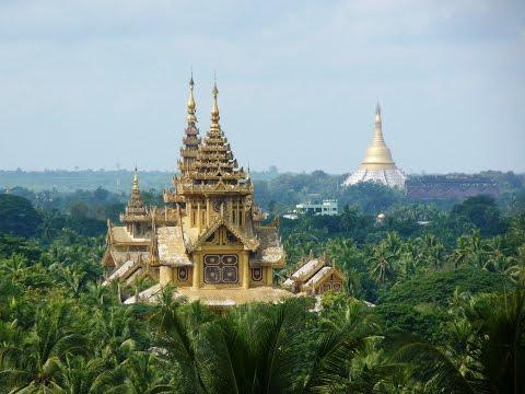 Ký Sự Phật Giáo Myanmar - Tập 13 - Chùa Làng ở BAGO [HD]