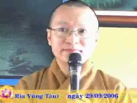 Tiếng cười trong pháp thoại (29/09/2006) video do Thích Nhật Từ giảng