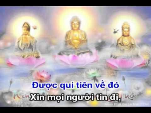 Con Đường Đi Tây Phương - Karaoke (Nhạc Phật Giáo chế lời)