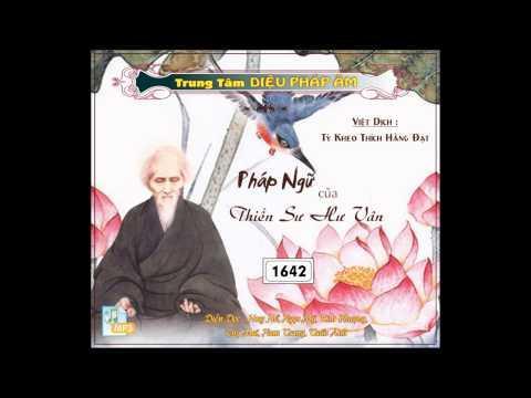 Pháp Ngữ Của Thiền Sư Hư Vân