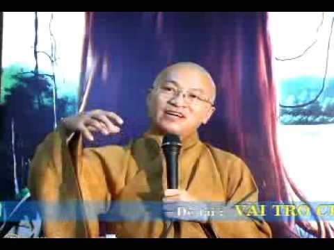 Tâm Kinh 1: Vai trò của Tâm Kinh (13/12/2009) video do Thích Nhật Từ giảng