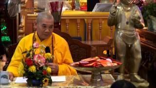 Giảng tại chùa Địa Tạng nhân lễ Vu Lan 2014