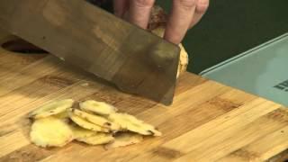 Món chay 132 - Bắp chuối kho riềng