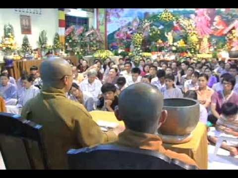 Ý nghĩa quy y Tam Bảo - phần 2/2 (28/05/2010) video do Thích Nhật Từ giảng