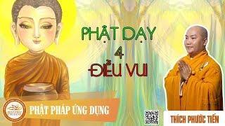 Phật Dạy 4 Điều Vui