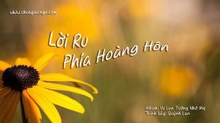 Lời ru phía hoàng hôn - Quỳnh Lan